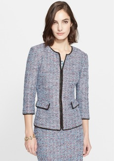 St. John Collection Confetti Tweed Knit Jacket