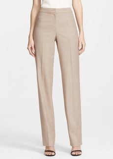 St. John Collection 'Diana - Chevron Suiting' Straight Leg Pants