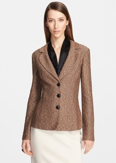 St. John Collection Donegal Tweed Knit Jacket