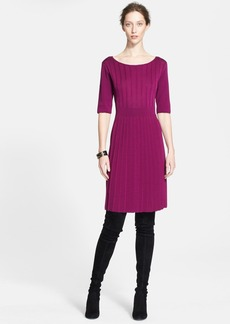 St. John Collection Double Face Crepe Knit Dress (Online Only)