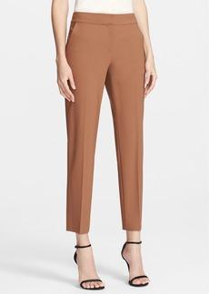 St. John Collection 'Emma' Modern Tropical Wool Crop Pants