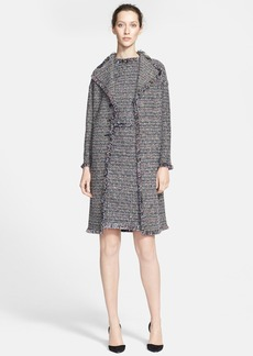 St. John Collection Metallic Tweed Knit Topper
