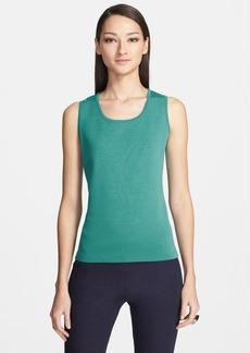 St. John Collection Milano Knit Contour Tank