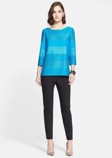 St. John Collection Ombré Stripe Tunic