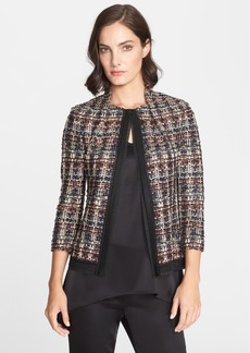 St. John Collection Opulent Tweed Jacket