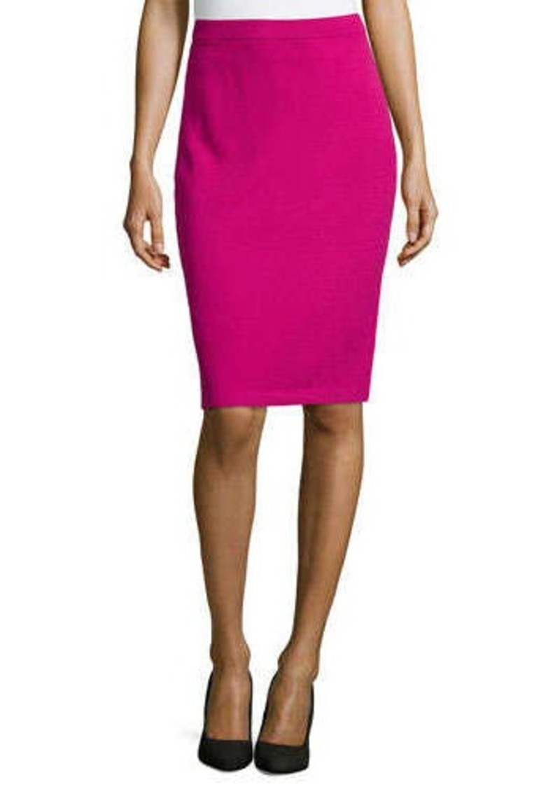 st st collection pull on knit pencil skirt