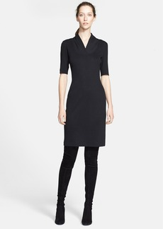St. John Collection Rib Knit Dress (Online Only)