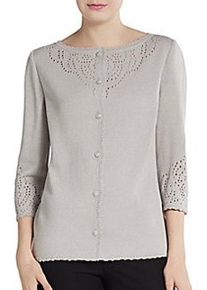 St. John Collection Santana Knit Cardigan