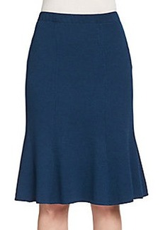 St. John Collection Santana Knit Trumpet Skirt