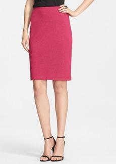 St. John Collection Shimmer Milano Knit Skirt