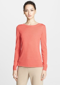 St. John Collection Silk & Cashmere Sweater