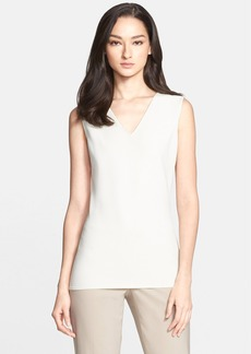 St. John Collection Soft Crepe Knit Shell