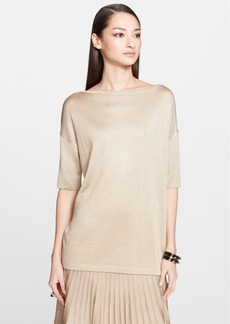 St. John Collection Sparkle Jersey Knit Sweater