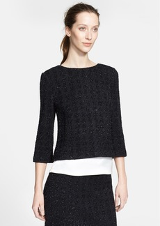 St. John Collection Sparkle Knit Top