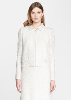 St. John Collection Sparkle Tweed Knit Jacket