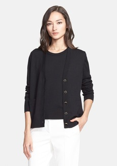 St. John Collection Wool Cardigan