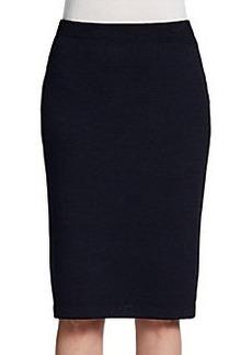 St. John Santana Knit Pencil Skirt