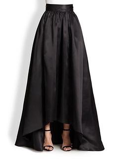 St. John Silk Satin Ball Gown Skirt