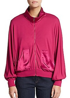 St. John Spa Jersey Zip Track Jacket