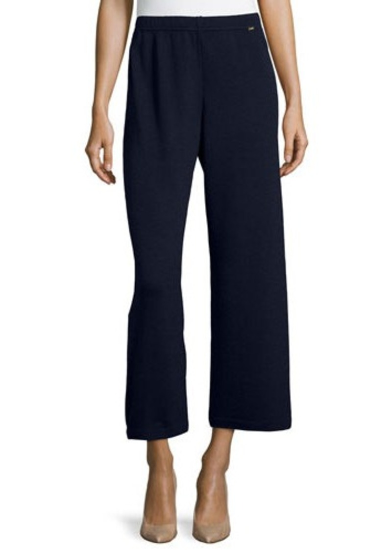 St John St John Wide Leg Capri Pants Casual Pants