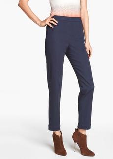St. John Yellow Label 'Alexa' Denim Ankle Pants