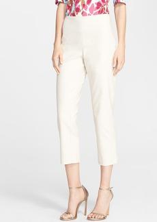 St. John Yellow Label 'Audrey' Double Weave Stretch Capri Pants