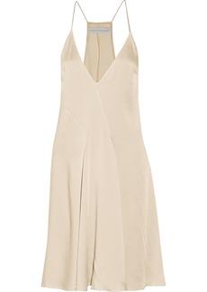 Stella McCartney Ana satin-cady dress