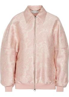 Stella McCartney Angelique jacquard bomber jacket