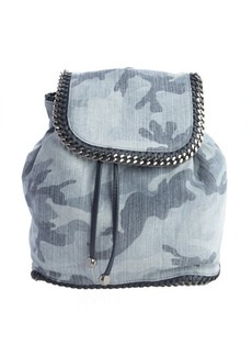 Stella McCartney blue faux suede 'Falabella' backpack