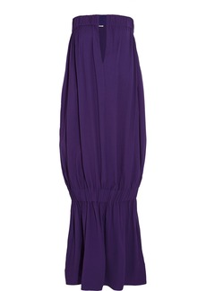 Stella McCartney Brunelle draped crepe dress