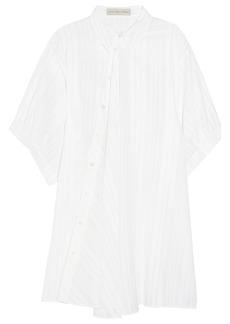 Stella McCartney Cesar cotton and silk-blend shirt dress