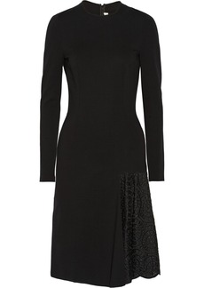 Stella McCartney Cotton and silk-blend dress