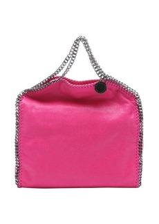 Stella McCartney dark blue faux suede three chain link 'Falabella' shoulder bag