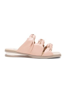 "Stella McCartney <div class=""product_name"">Knot Faux Leather Sandals</div>"