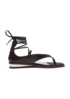 "Stella McCartney <div class=""product_name"">Lace Up Sandals</div>"
