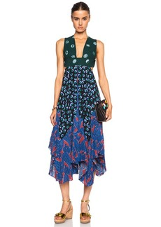 "Stella McCartney <div class=""product_name"">Printed Silk Dress</div>"