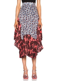 "Stella McCartney <div class=""product_name"">Printed Silk Skirt</div>"