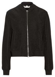 Stella McCartney Elgin snake-jacquard jacket