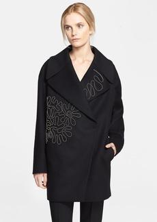 Stella McCartney Embellished Melton Coat