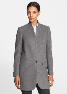 Stella McCartney Embellished Wool Blend Coat