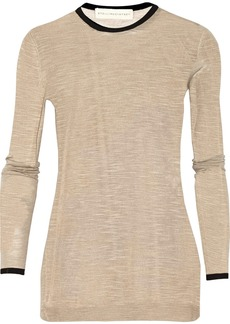 Stella McCartney Fine-knit silk sweater