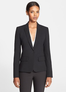 Stella McCartney Flounce Back Stretch Wool Jacket