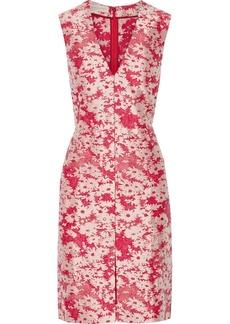 Stella McCartney Giona cotton-blend floral-jacquard dress
