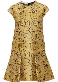 Stella McCartney Gisella snake-jacquard dress