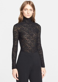 Stella McCartney Lace Turtleneck Sweater