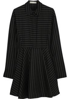 Stella McCartney Leila striped wool-blend dress