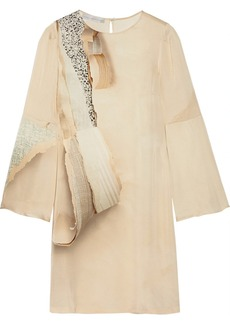 Stella McCartney Lotta printed washed-silk dress