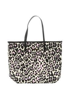 Stella McCartney maculato leopard print shopper's tote