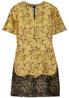 Stella McCartney Melanie snake-print jacquard dress