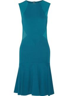 Stella McCartney Paneled stretch-jersey mini dress